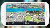 Sygic GPS & Karten: Navi-App angeschaut, 40Prozent Rabatt auf Premium-Kartenpakete