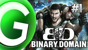 Binary Domain - Live Gameplay Part 1