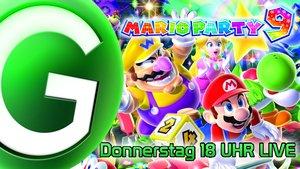Mario Party 9 LIVE Teaser