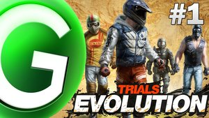 Trials Evolution - LIVE Gameplay #1
