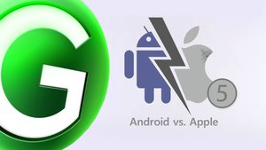 Android vs. Apple Galaxy S3