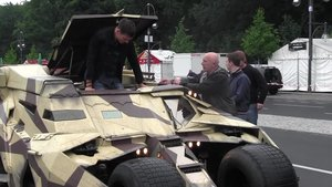 The Dark Knight Rises - David fährt mit dem Batmobil