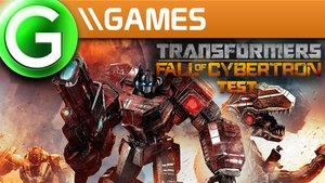 Transformers - Untergang von Cybertron Test