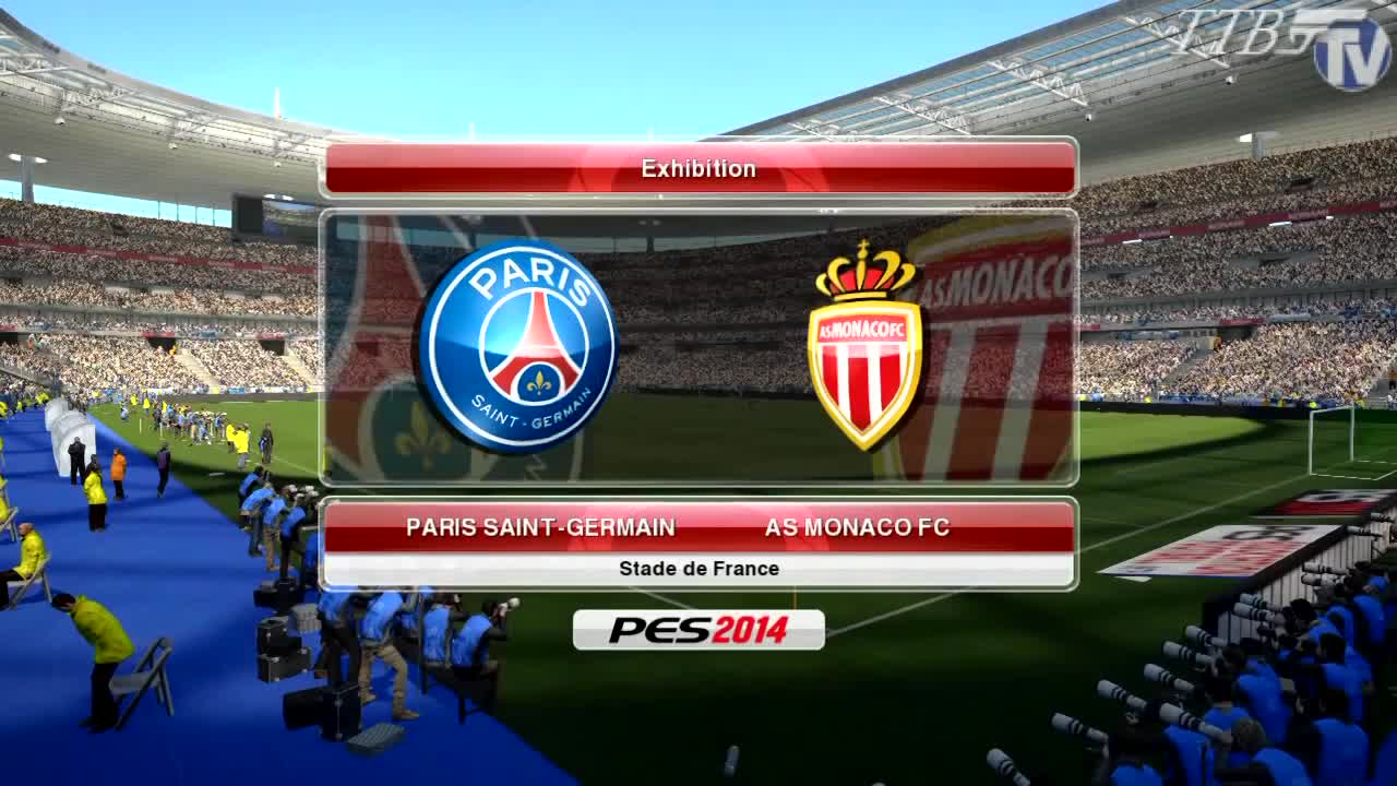 Ttb Pes 2014 Psg Vs As Monaco Ep2 Superstar Difficulty Pc Gameplay