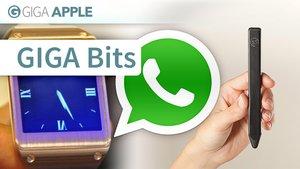 GIGA Bits: WhatsApp, Galaxy Gear, Pencil by 53