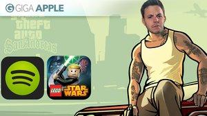 GIGA Bits: GTA San Andreas für iOS, kostenloses Spotify