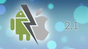 Android vs. Apple: Werbemodus