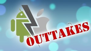 Android vs. Apple: Werbemodus Outtakes