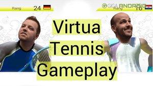 Virtua Tennis Gameplay