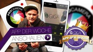 ProCamera 7 - App der Woche
