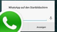 WhatsApp auf den Sperrbildschirm: Nachrichten schreiben vom Lockscreen