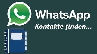 WhatsApp Kontakte finden: So funktioniert es!