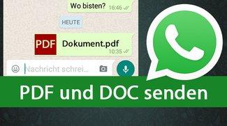 WhatsApp: Dateien aller Art versenden, auch PDF und DOC (auch am PC) – so gehts
