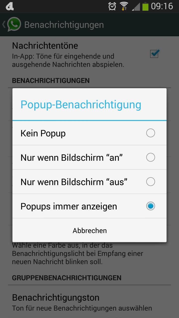 Whatsapp Auf Dem Kopf Schreiben