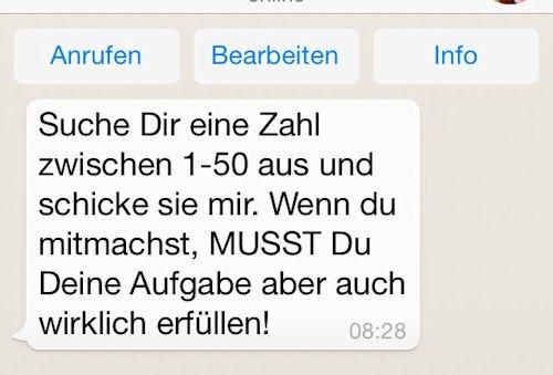 Whatsapp Spiele 1 50 Schicke Mir Eine Zahl