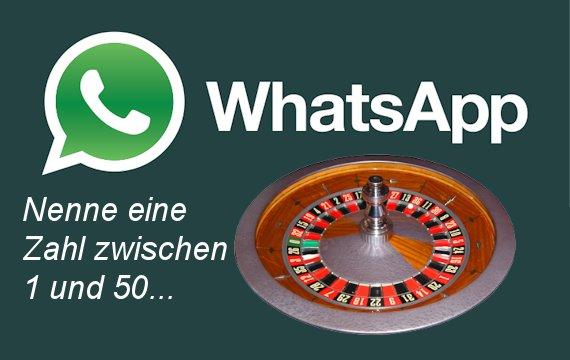 WhatsApp Spiele 1-50 - Schicke mir eine Zahl…
