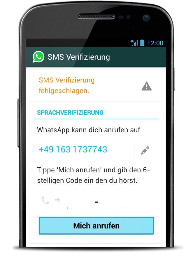 whatsapp-verifizierung