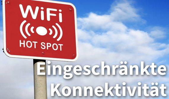 Eingeschränkte Konnektivität in WLAN und LAN: So geht es doch!