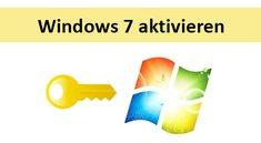 Windows 7 aktivieren / Aktivierung umgehen – so geht's