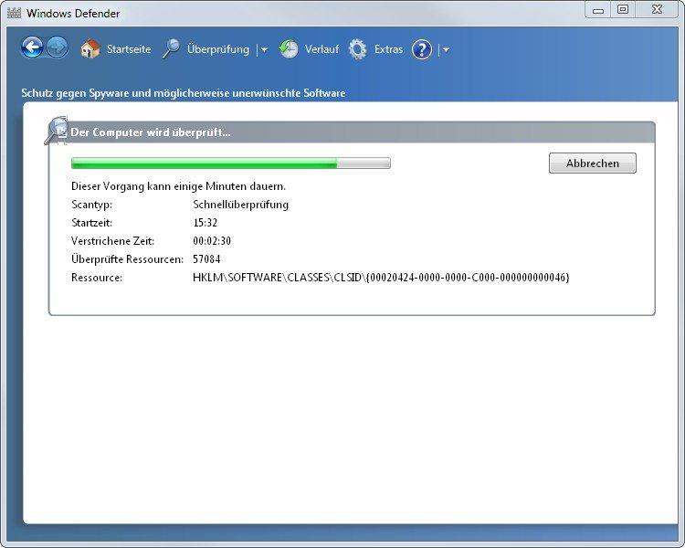 Wenn wir den Windows Defender deinstallieren, entfernen wir die letzte Sicherheitsmauer in Windows
