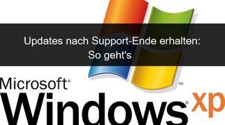 Windows XP: Updates durchführen dank Hack