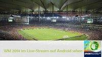 WM Live-Stream auf Android ansehen: Alle Spiele, 20 Kameras