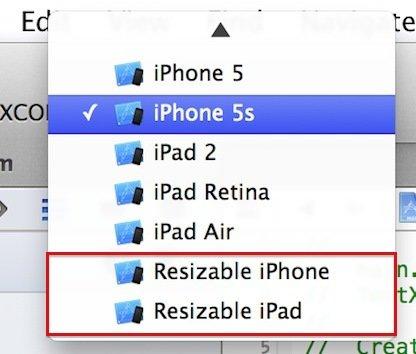 iPhone 6 und iPad pro: Xcode 6 mit deutlichem Hinweis für neue Display-Größen