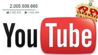 Die meist gesehenen YouTube-Videos aller Zeiten: Neuer Spitzenreiter 2017