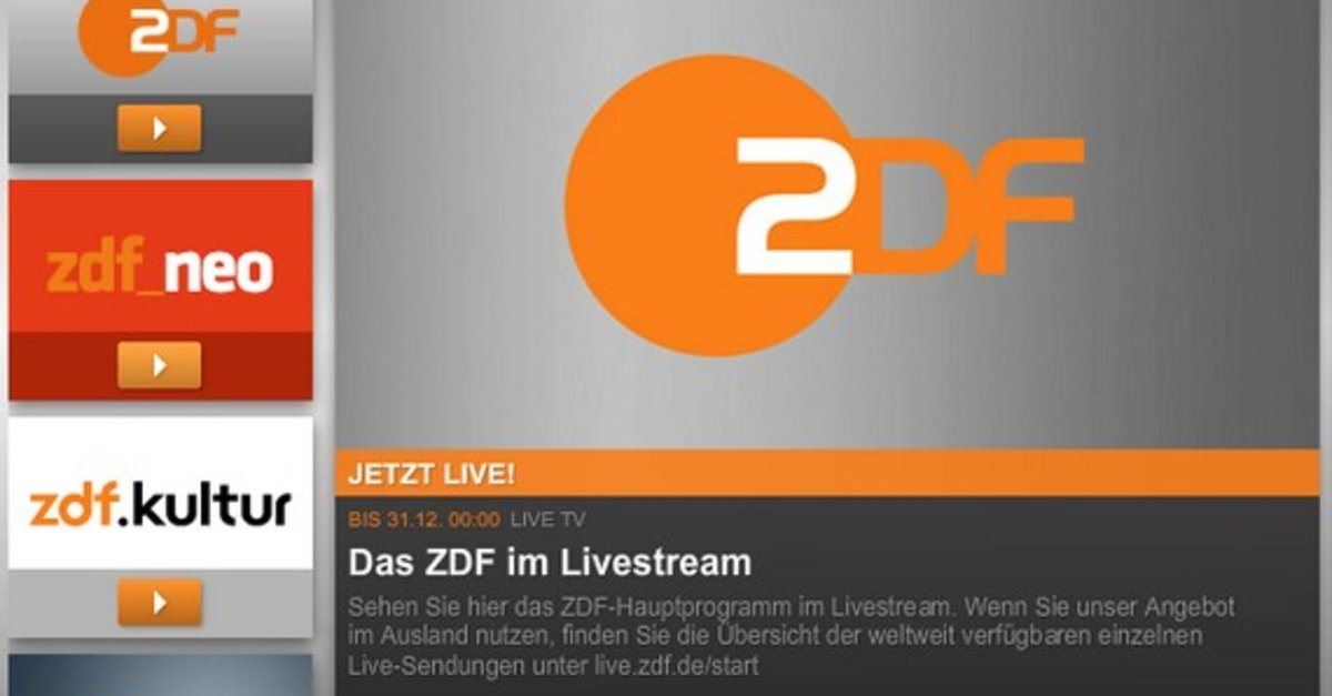 Zdf Live Stram