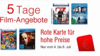 5 Tage Film-Angebote bei Amazon:<b> DVDs, Blu-rays, Box-Sets</b></b>