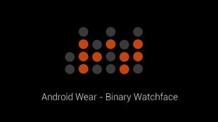 Binary Watchface: Erste alternative Oberfläche für Android Wear-Smartwatches