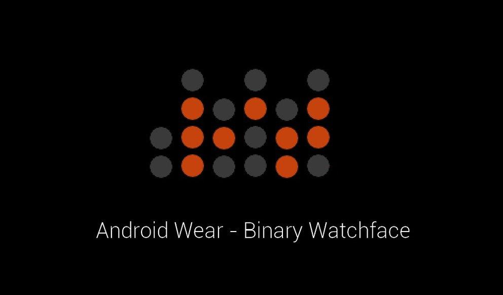 Binary Watchface: Erste alternative Oberfläche für Android Wear-Smartwatches