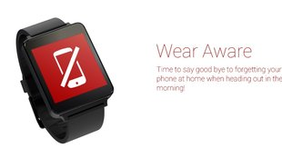 Android Wear-Tools: Smartphone per Phone Finder wiederfinden, Alarm bei Verbindungsverlust mit Wear Aware
