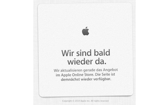 Apple Store Offline – neue Macbooks erwartet /Update: Jetzt sind sie da