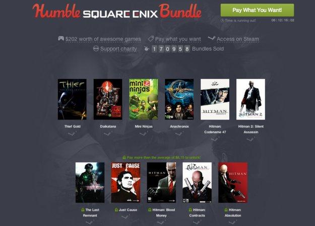 Humble Square Enix Bundle: Weitere Hitman-Spiele und mehr hinzugefügt