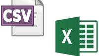 CSV-Datei in Excel importieren – so wird's gemacht