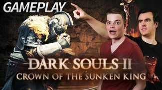 Tom VS Dark Souls 2: Crown of the Sunken King im GIGA Gameplay!