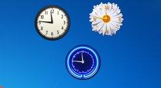 Desktop-Uhr unter Windows 7 anzeigen – so geht's
