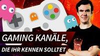 YouTube: Gaming-Kanäle, die ihr kennen solltet!