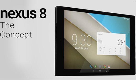HTC Nexus 8 Konzept: Das sieht doch ziemlich gut aus
