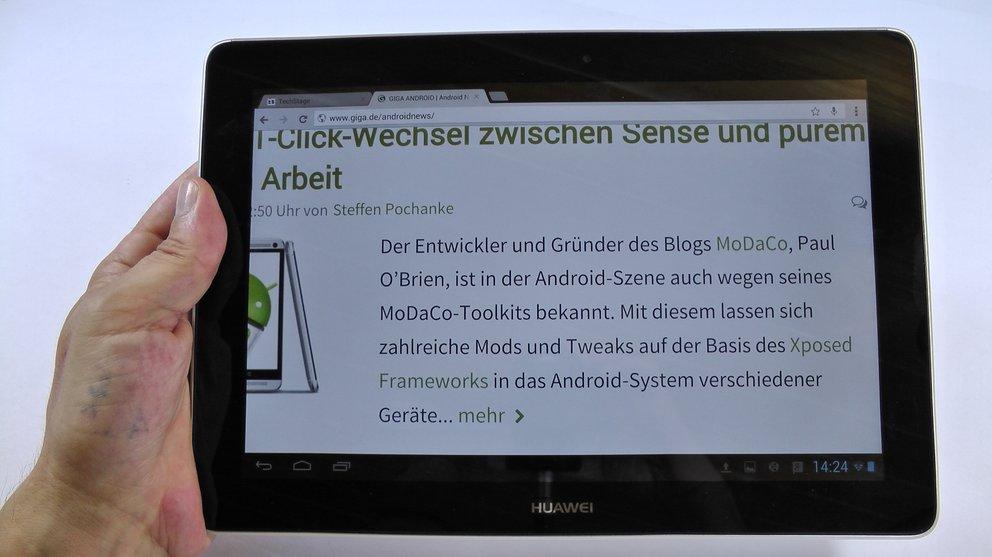 Huawei MediaPad 10 FHD Test
