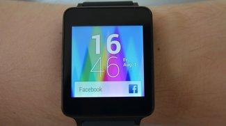 LG G Watch mit Android Wear: Test zum Smartwatch-Reboot