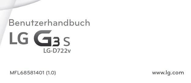 """LG G3 S: Geleakte Gebrauchsanweisung belegt das LG G3 """"mini"""" für Deutschland"""