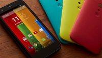 Motorola Moto G: Factory Reset - Hard Reset und Soft Reset
