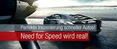 Perfekte Inszenierung schneller Autos! Need for Speed wird real!