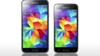 Samsung Galaxy S5 mini vs. Galaxy S5: Die technischen Daten im Vergleich