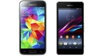 Samsung Galaxy S5 mini vs Sony Xperia Z1 compact: Datenvergleich