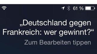 """Deutschland gegen Frankreich: Siris """"Prognose"""" (Betthupferl)"""