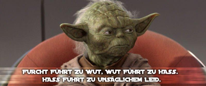 Star Wars Zitate Yoda