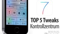 Top 5 Cydia-Tweaks für das iOS 7 Kontrollzentrum